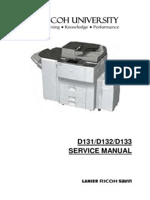 Ricoh MP-6002-9002-Service-Manual | Debugging | Secure Digital