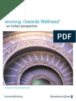 India Working Towards Wellness