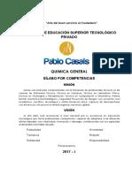 Silabus de Química Farmacia Técnica 2017-I