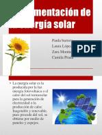 Implementación de La Energía Solar