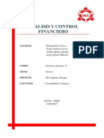 Analisis y Control Financiero r