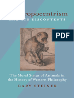 Gary Steiner-Anthropocentrism and Its Discontents_ the Moral Status of Animals in the History of Western Philosophy-University of Pittsburgh Press (2010)