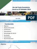 BCR Estimación Del Costo Económico de La Violencia