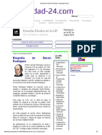 Biografía de Simón Rodríguez _ Actualidad-24