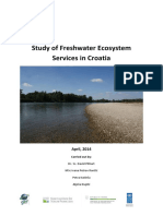 Study of Freshwater Ecosystem Services in Croatia
