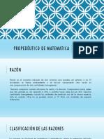 Propedéutico de Matematica Ppt
