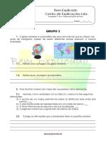 A.2 Teste Diagnóstico Representações Da Terra 1