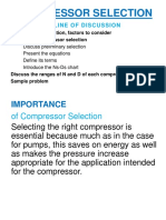 Guidelines on Compressor Sizing and Selection