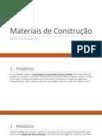 AULA 14- Materiais Cerâmicos RESUMO