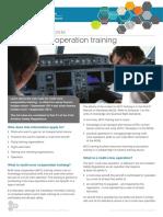 Multi Crew Cooperation Training