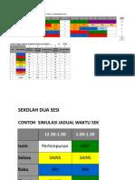 Simulasi Jadual Sk