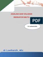 11. Analisa dan validasi data - dr. Luwiharsih MSc.pptx