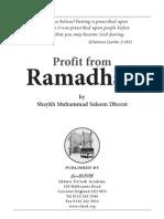 Profit From Ramdhaan