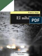 El Nihilismo - Franco Volpi.pdf