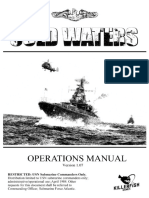 Cold Waters Operations Manual 107