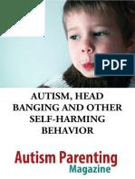 Autism Self Harming Behavior
