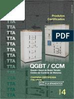 Catálogo Técnico Painel QGBT/CCM - TTA Q&T