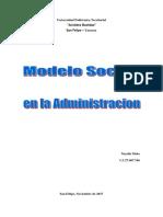 Modelo Social en la Administracion.docx