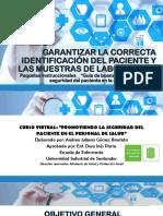 Presentación_ Garantizar La Correctaidentificacion Del Paciente
