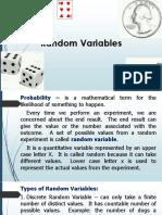 Random Variable Lesson Day3