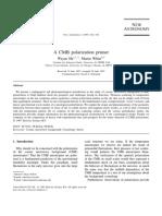 CMB Polarization Hu