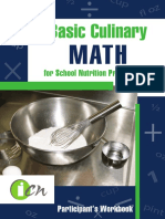Basic Culinary Math Participant Manual
