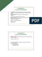 02.1 - Conceitos Fundamentais, Íons e Relações Entre Os Átomos - Folheto