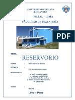 Monografia de Reservorio