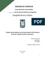 Informe de Catastro Grupo 5