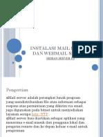 Instalasi Mail Server Dan Webmail Server