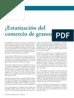 Estatizacion Comercio Granos Analisis