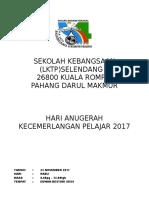 Kertas Kerja MAKEP 2017 Perasmi Datang Kol 9