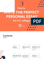 Crimson eBook Perfect Personal Essay