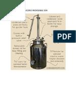 Destilador en Acero Inoxidable 304