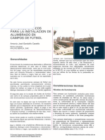 CONCEPTOS PARA ILUMINACIÓN DE CANCHAS DEPORTIVAS