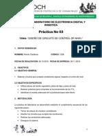 DISEÑO DE CIRCUITO DE CONTROL DE NIVEL