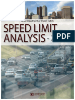 Speed Limit Analysis
