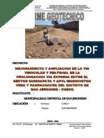 _Estudio Geotecnico via Expresa