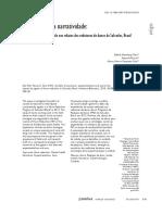 Uma Política Da Narratividade Redutores de Danos Em Salvador