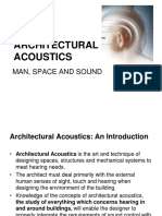 A. Introduction to Archl Acoustics