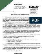 Anunt TVA Exemple 21 Nov