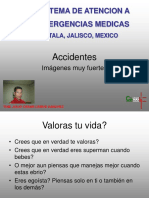 ACCIDENTES  REALES..pps