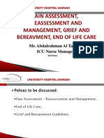Pain Assessment%2c Reassessment and Management%2c Grief and Bereavement%2c End of LIfe Care