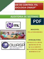 Auditoria ITIL Y OWASP