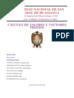 Metodos Numericos-Valor y Vector Numerico