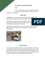 Clasificación de Las Danzas Del Perú Se Dividen En
