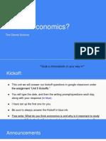 Akhsce- 5.0- What is Economics