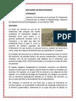 Carnaval Mazateco Historia