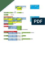 Tarrajeo Excel plantilla de calculo