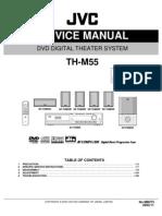 JVC TH-M55 DVD Theater System,Sm
